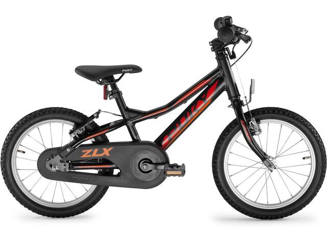 "Puky ZLX 16-1 Alu F Børnecykel 16"" Børn, black"